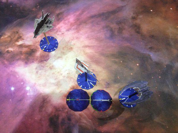 Battlestar Galactica Starship Battles prototip