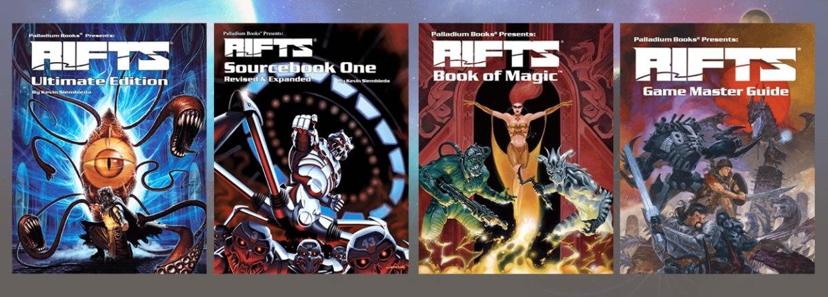 Rifts RPG knjige u Book of Holding specijalnoj ponudi