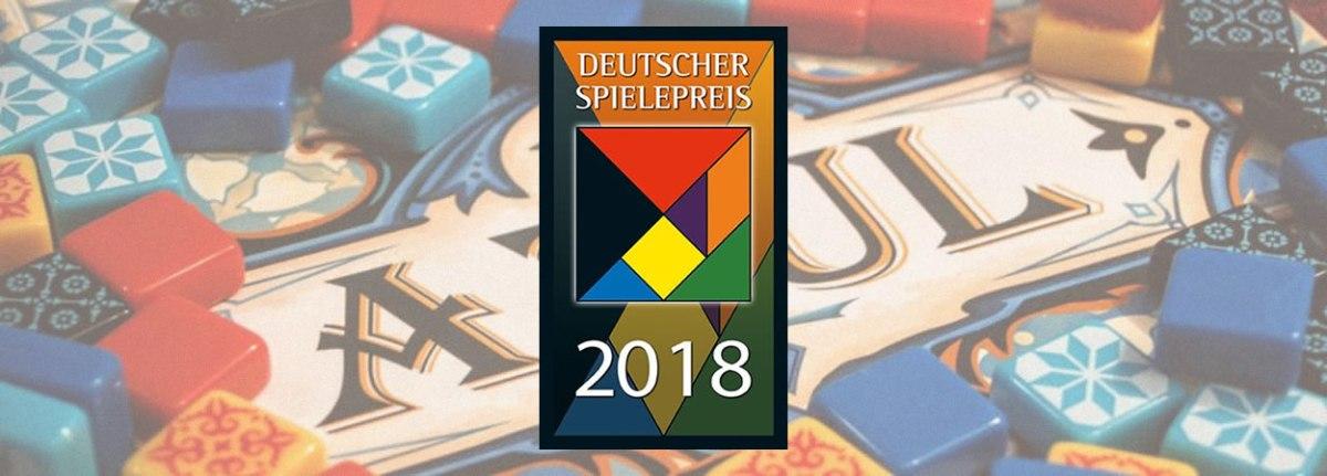 Deutscher Spielepreis Awards 2018 - Azul odnosi još jednu nagradu