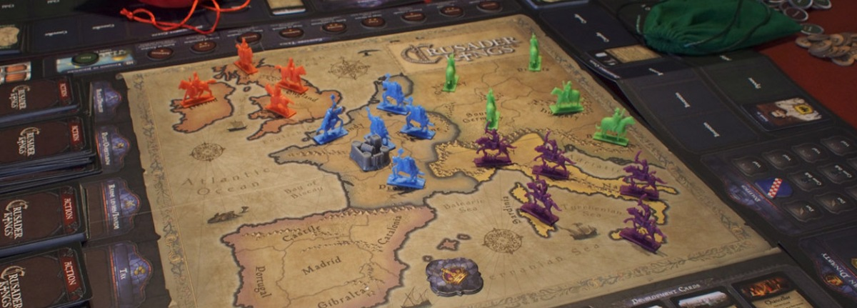 Crusader Kings društvena igra prikazana na Essen Spiel 2018