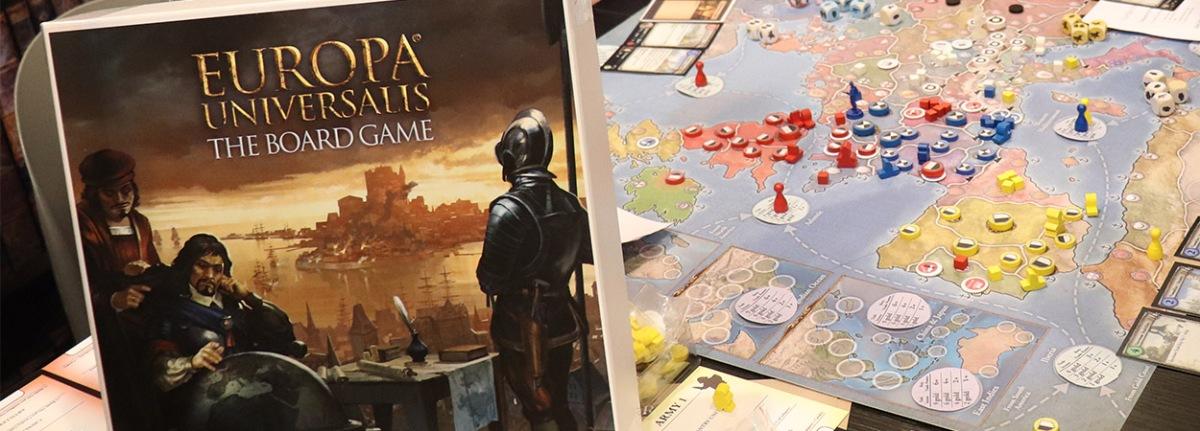 Europa Universalis društvena igra prikazana na Essen Spiel 2018