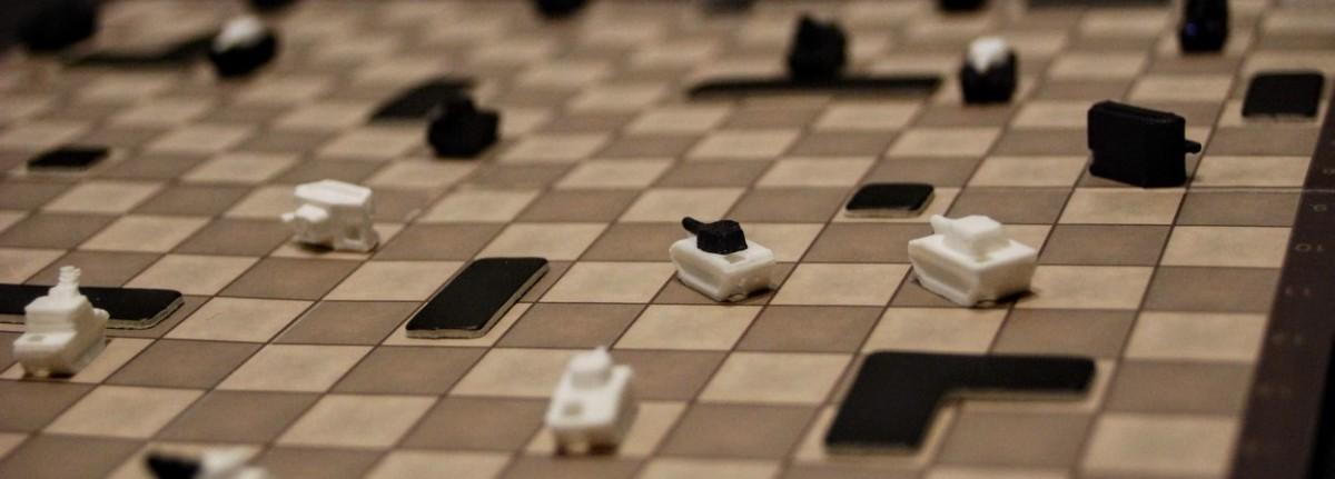 Tank Chess - recenzija