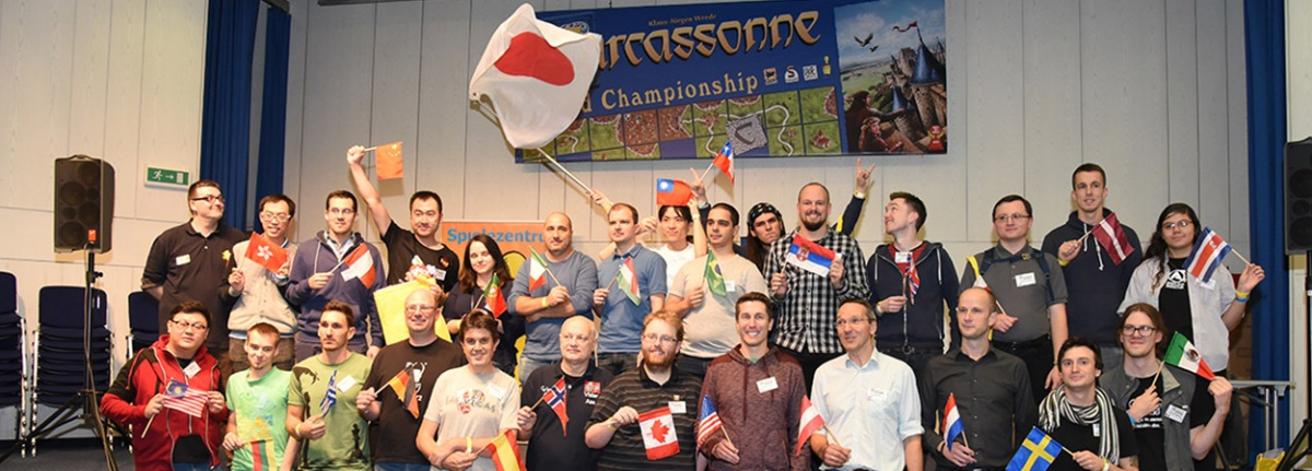 Carcassonne World Championship 2018 - zlato za Japan